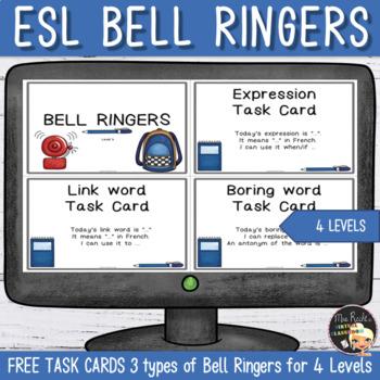Bell Work Checklist