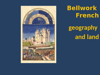Bellwork French geography and land