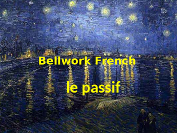 Bellwork French le passif