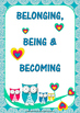 Belonging Being Becoming Free Poster