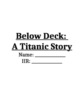 Below Deck: A Titanic Story