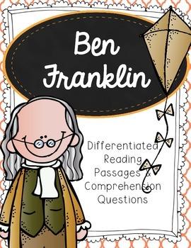 Ben Franklin Differentiated Reading Passages & Comprehensi