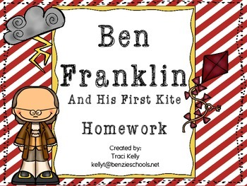 Ben Franklin and His First Kite Homework - Scott Foresman