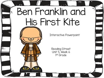 Ben Franklin and His First Kite, Interactive PowerPoint