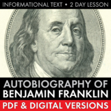 Ben Franklin's Autobiography, Informational Text with Mode