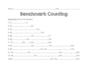 Benchmark Counting