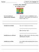Benchmark Literacy Comprehension Worksheets for Unit 4