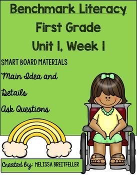 Benchmark Literacy First Grade Unit 1, Week 1