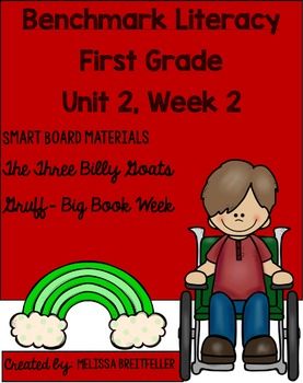 Benchmark Literacy First Grade Unit 2, Week 2