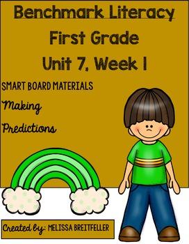 Benchmark Literacy First Grade Unit 7, Week 1