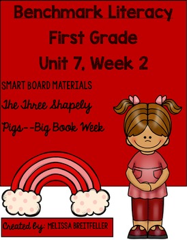 Benchmark Literacy First Grade Unit 7, Week 2