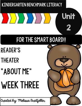 Benchmark Literacy Kindergarten Unit 2 Week 3