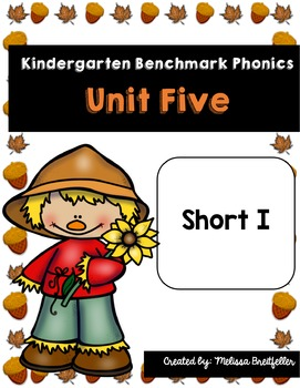 Benchmark Literacy Phonics Kindergarten Unit 5