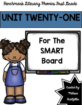 Benchmark Literacy Phonics Unit 21