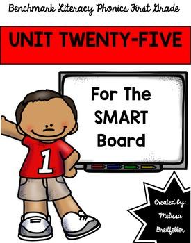 Benchmark Literacy Phonics Unit 25