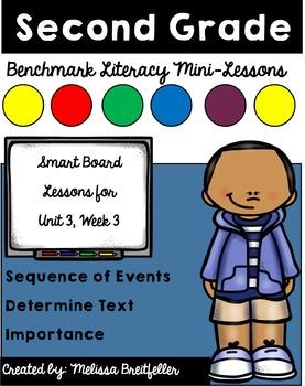 Benchmark Literacy Second Grade Unit 3 Week 3