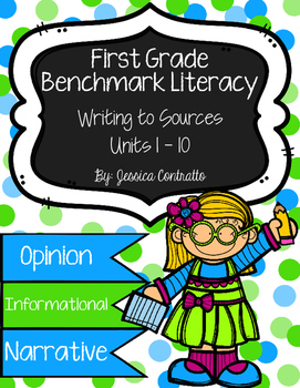 Benchmark Literacy: Writing to Sources Papers