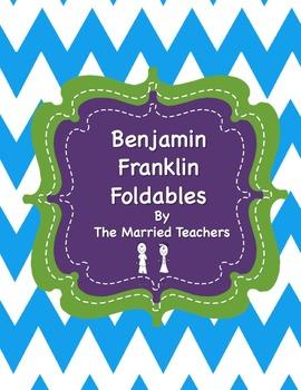 Benjamin Franklin Interactive Historical Figure Foldables