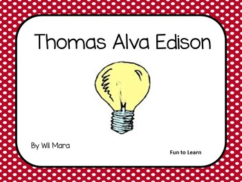 Thomas Alva Edison   by  Wil Mara