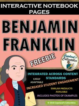 Benjamin Franklin's Interactive Notebook Pages *FREEBIE*