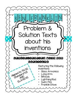 Benjamin Franklin's Inventions: Problem & Solution Passages