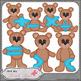 Benny Bear Learns Math Symbols - Art by Leah Rae Bundle