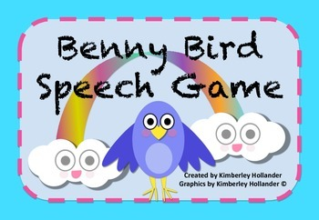 Benny Bird Speech Game