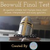 Beowulf Final Test