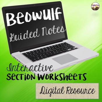Beowulf Guided Notes - Digital Resource
