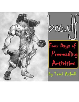 Beowulf: 4 Scripted Prereading Activities w/ Hand Outs and