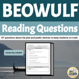 Beowulf Reading Questions (Seamus Heaney Version)