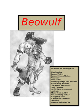 Beowulf ~ Ultimate Teacher's Master Packet (100+ pages)