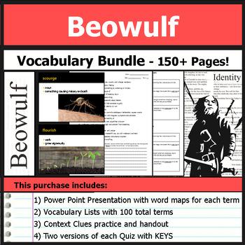 Beowulf - Vocabulary Bundle