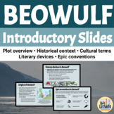 Beowulf and Anglo-Saxon Culture PowerPoint