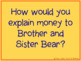Berenstain Bears' Trouble With Money Literature Unit for t