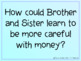 Berenstain Bears' Trouble With Money Literature Unit on Po