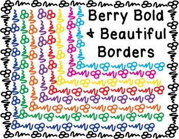 Borders - Berry Bold Beautiful Pack #1