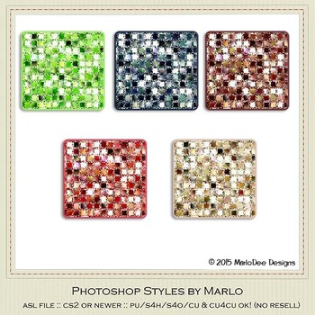 Berry Colors Marlo Glitter Photoshop Styles