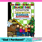 The Best Christmas Pageant Ever Activities for INTERACTIVE NOTEBOOKS