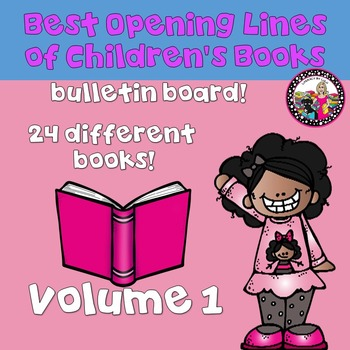 Best First Lines of Children's Books!  Bulletin Board-All