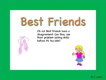 Best Friends, Reading Comprehension, Differentiated question set
