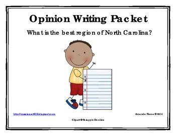 Best Region of North Carolina Opinion / Tell Why / Argumen
