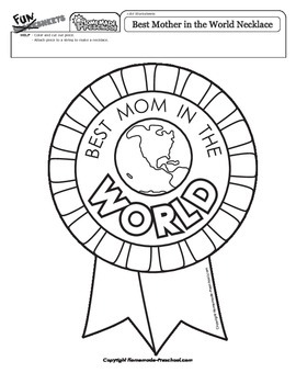 Best Mother in the World Necklace