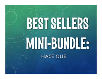 Best Sellers:  Spanish Hace Que