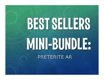 Best Sellers:  Spanish Preterite Regular AR