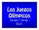 Best Sellers:  Spanish Tener