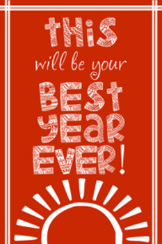Best Year Ever Red
