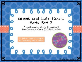 Beta: Greek and Latin Roots Set Two