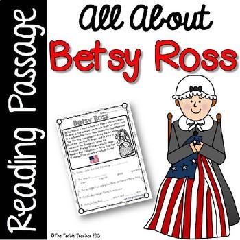 Betsy Ross Reading Passage