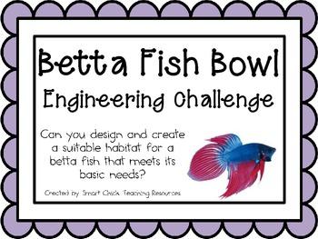 Betta Fish Bowl: Engineering Challenge Project ~ Great STE